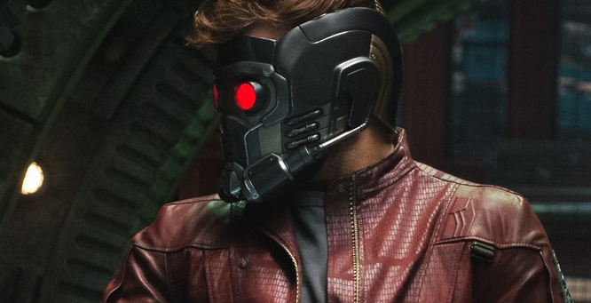 Star Lord's helmet