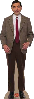 MrBeanCardboardCutout