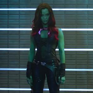 Gamora is a badass