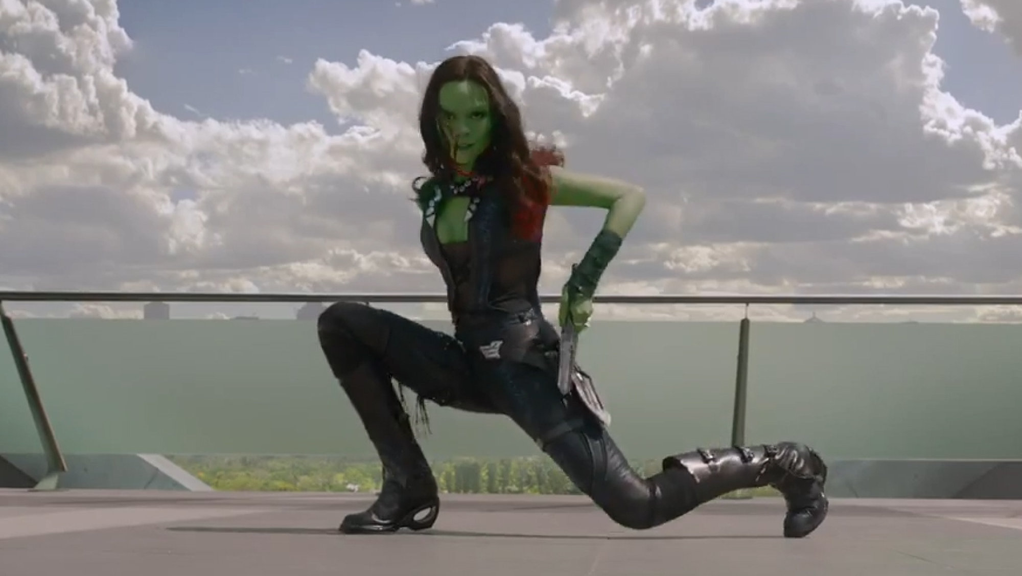 Gamora with heels