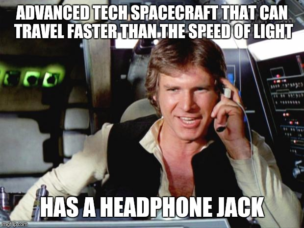 Han Solo likes wires